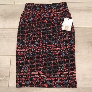 LuLaRoe Cassie Pencil Skirt New XS